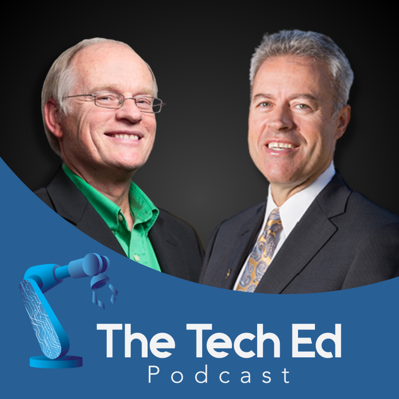 Mark Mone and Johannes Britz on The TechEd Podcast