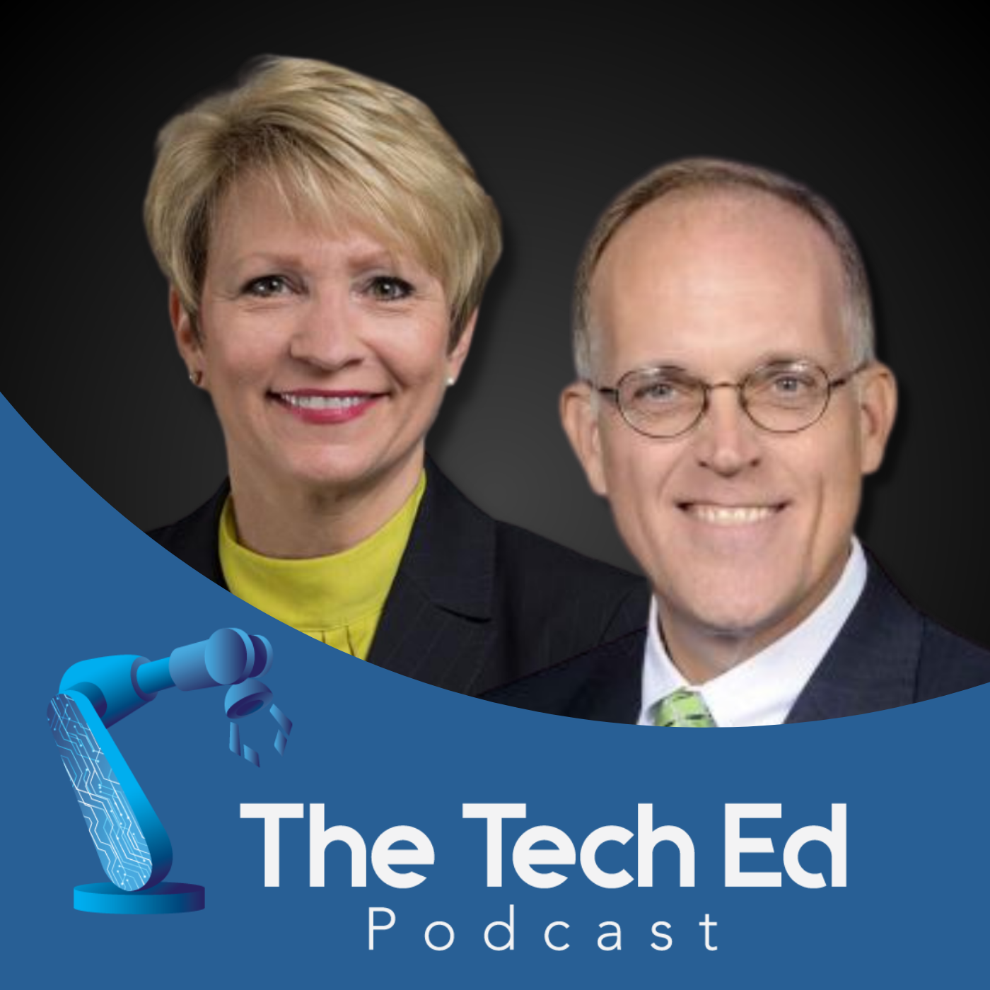 Sue Ellspermann and Chris Lowery on The TechEd Podcast