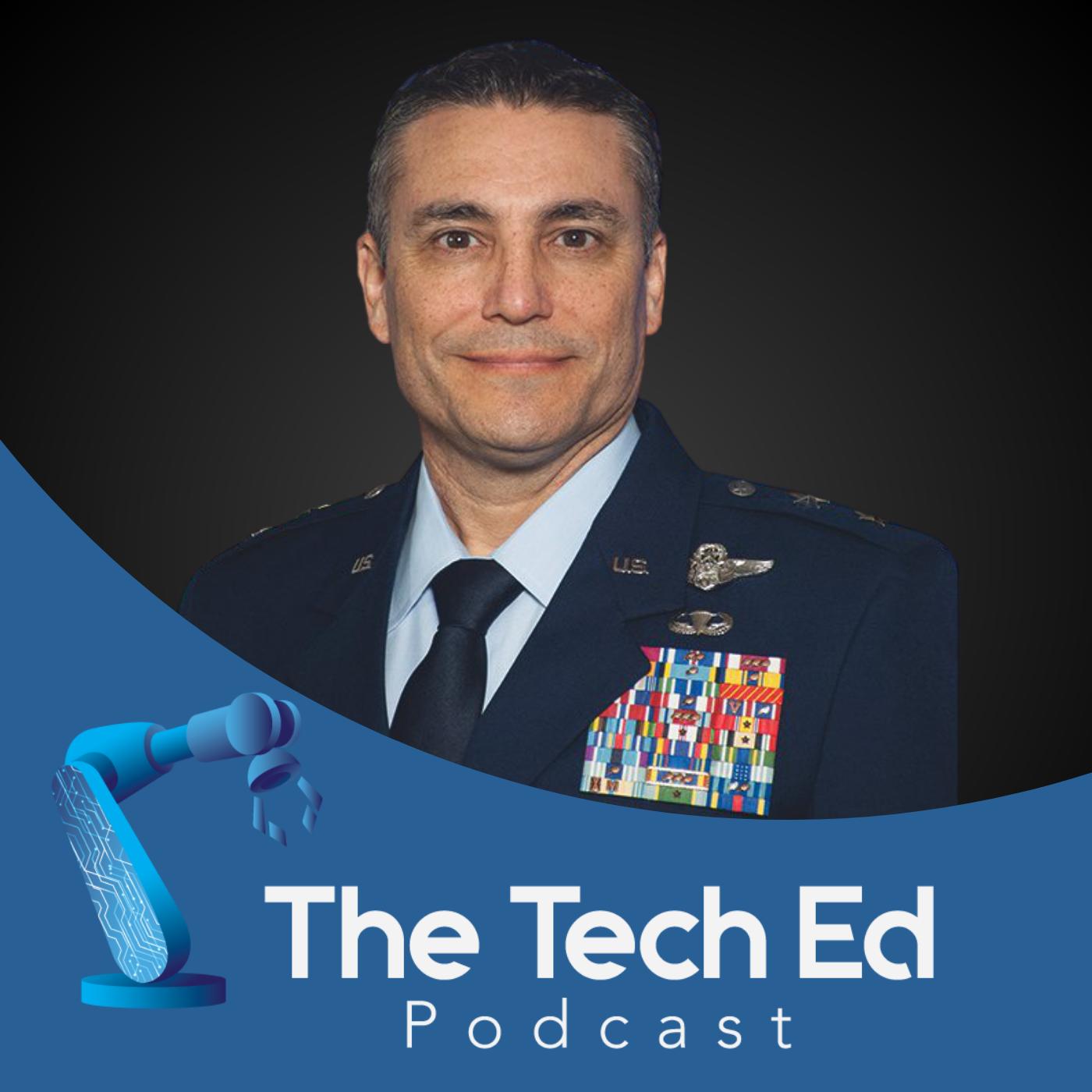 Maj Gen Paul Knapp on The TechEd Podcast